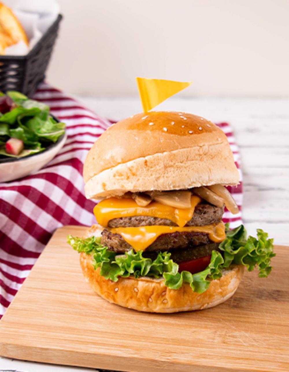 Şehrin En İyi Burgerlerini Hazırlıyoruz!
